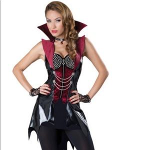 Women's Vampire Costume Sz Large